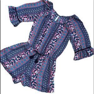 Xhilaration Boho Style Romper Girls Size Large